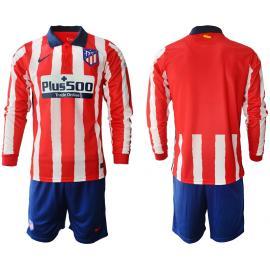 Camiseta Del Atlético De Madrid 2020/2021 Manga Larga
