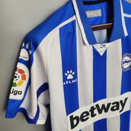 Camiseta Deportivo Alavés Primera Equipación 20/21 Niño