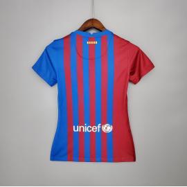 Camiseta Barcelona Primera Equipación 2021/2022 Mujer