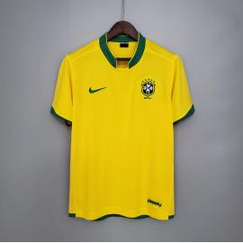 Camiseta Brasil Primera Equipación 2006