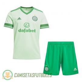 Camiseta Celtic Segunda Equipación 2020/2021 Niño