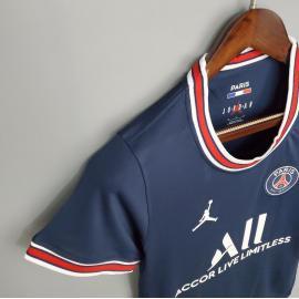 Camiseta Paris Saint-Germain Primera Equipación 2021-2022 Mujer