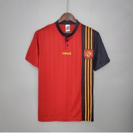 Camiseta Retro España Primera Equipación 1996