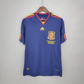 Camiseta Retro España Segunda Equipación 2010