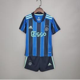 Camiseta Ajax Segunda Equipación 2021-2022 Niño