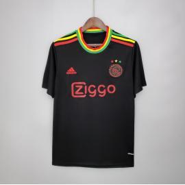 Camiseta Ajax Fc Concepto Negro 2020-2021