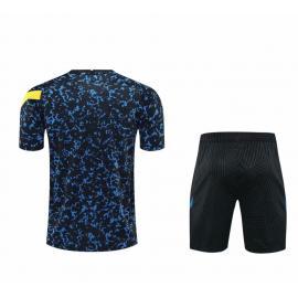 Camiseta Inter Milan 2020-2021 Entrenamiento Camuflaje Azul