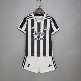 Camiseta Juventus Primera Equipación 2021/2022 Niño
