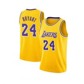Camiseta de Baloncesto para Hombre, NBA, Los Angeles Lakers #8#24 Kobe Bryant.