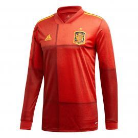 Camiseta Primera España Euro 2021 Manga Larga