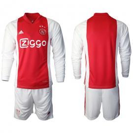 Camiseta Ajax De Ámsterdam Primera Equipación 2020/2021 Manga Larga