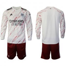 Camiseta Arsenal FC Segunda Equipación 2020-2021 Manga Larga