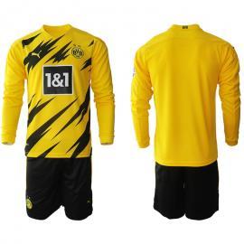 Camiseta Borussia Dortmund Primera Equipación 2020/2021 Manga Larga