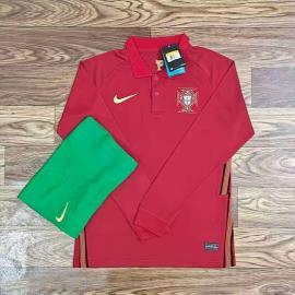 Camiseta Portugal Stadium Primera Equipación 2020-2021 Manga larga