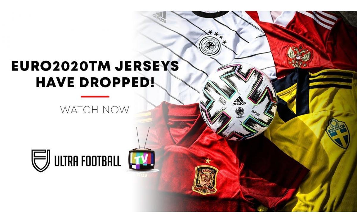 Combinando arte y fútbol, Adidas lanza la camiseta de fútbol local para la serie Euro 2020