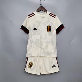 Camiseta Belgica Euro 2ª Equipación 2020 Nino