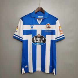 Camiseta Macron Deportivo A Coruña 2020 2021