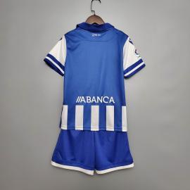 Camiseta Macron Deportivo A Coruña 2020 2021 Niño
