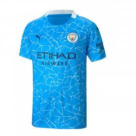 Camiseta De La 1.ª Equipación Del Manchester City 2020-2021 Niños