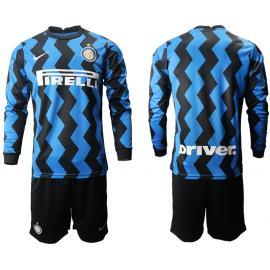 Camiseta Inter De Milán 1ª Equipación 2020/2021 Manga Larga