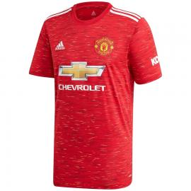 Camiseta De La Equipación Local Del Manchester United 2020-2021