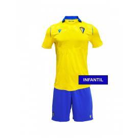 Camiseta Cadiz CF 1ª Equipación 2021/2022 Niño