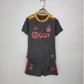 Camiseta Ajax Fc Concepto Negro 2020/2021 Niño