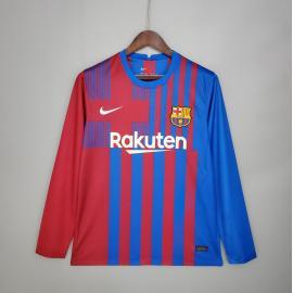 Camiseta Barcelona Primera Equipación 2021/2022 ML