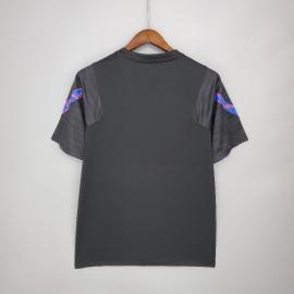 Camiseta Barcelona Entrenamiento 21/22 - Negro