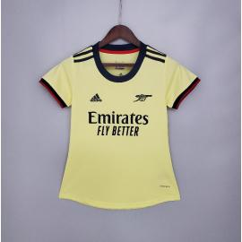 Camiseta Fc Arsenal Segunda Equipación 2021-2022 Mujer