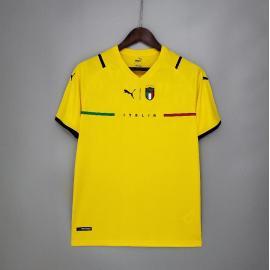 Camiseta Italia Portera amarilla 2021/2022