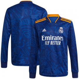 Camiseta Real Madrid Segunda Equipación 2021-2022 ML