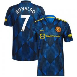 Camiseta Ronaldo 7 Manchester United Tercera Equipación 2021/2022