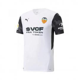 Camiseta Valencia Cf Primera Equipación 2021/2022 Niño