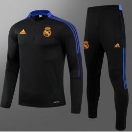Chaquetas Entrenamiento FC Real Madrid 2021 Negro