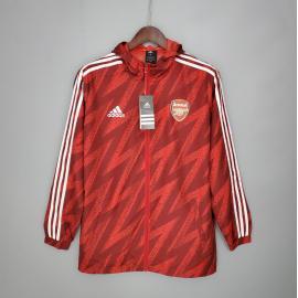 Cortavientos Arsenal Roja 2021/2022