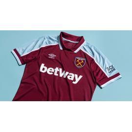 Camiseta West Ham United Primera Equipación 2021/2022