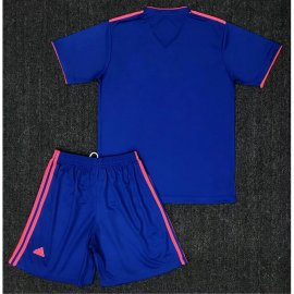 Conjunto De Camiseta Columbia 2ª Equipación 2018 Niño