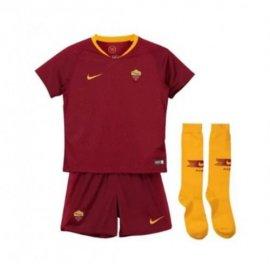 Camiseta 1a Equipación 2018-2019 AS Roma Niños Kit