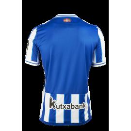 Camiseta Real Sociedad Primera Equipación Europa 2020/21
