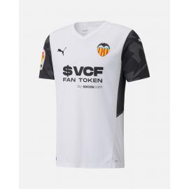 Camiseta Valencia Cf Primera Equipación 2021/2022