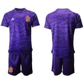 Camiseta España Portero en Púrpura 2020 Edición Copa De Europa