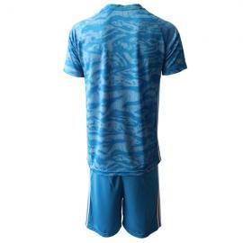 Camiseta España Portero en Azul 2020 Edición Copa De Europa
