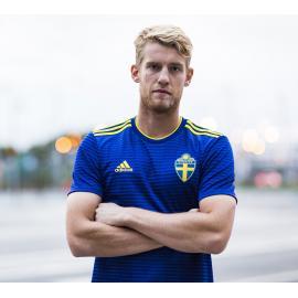 Camiseta 2a Equipación 2018 Suecia