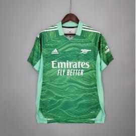 Camiseta Arsenal Portero 2021/2022 Verde