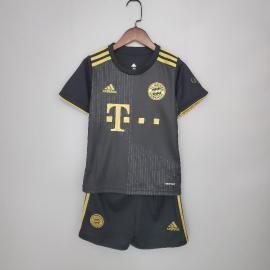 Camiseta FC Bayern Munich Segunda Equipación 2021-2022 Niño