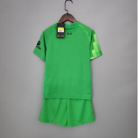 Camiseta Liverpool Fc Stadium Portero 2021-2022 Niño