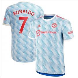 Camiseta Ronaldo 7 Manchester United Segunda Equipación 2021/2022