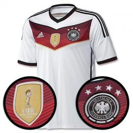 Camiseta Alemania 2014-2015 Home 4 Star Winners