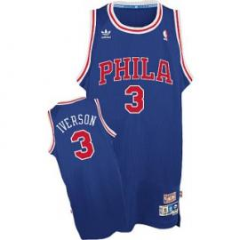 Camiseta Allen Iverson Philadelphia 76ers [Azul]